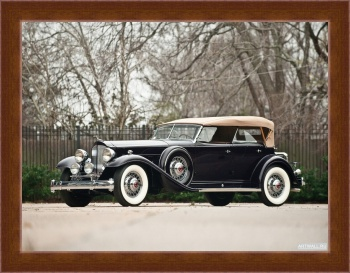 Магнитная картина Packard Twin Six Sport Phaeton by Dietrich '1932,
