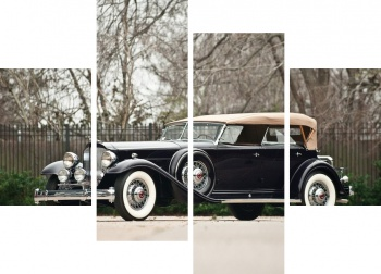 Модульное панно Packard Twin Six Sport Phaeton by Dietrich '1932,
