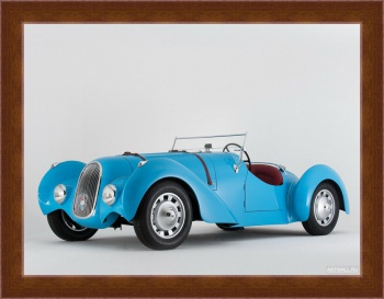 Магнитная картина Peugeot 402 Special Pourtout Roadster '1938,