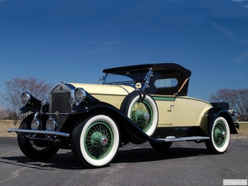 Pierce-Arrow Model 54 Convertible Sedan '1932,