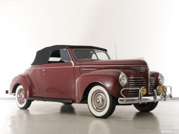 Plymouth Deluxe Convertible Coupe (P10) '1940,