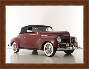 Магнитная картина Plymouth Deluxe Convertible Coupe (P10) '1940,
