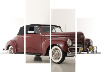 Модульное панно Plymouth Deluxe Convertible Coupe (P10) '1940,