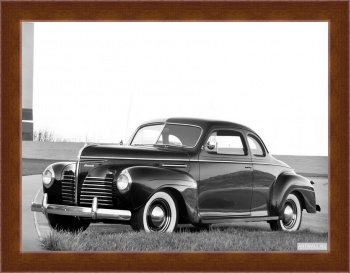 Магнитная картина Plymouth Deluxe Coupe (P10) '1940,