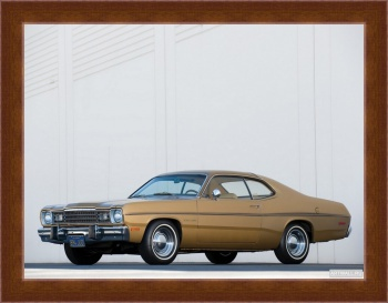 Магнитная картина Plymouth Gold Duster '1973,
