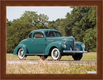 Магнитная картина Plymouth Road King Business Coupe (P7) '1939,