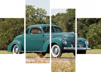 Модульное панно Plymouth Road King Business Coupe (P7) '1939,