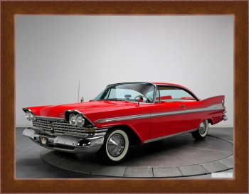 Магнитная картина Plymouth Sport Fury Hardtop Coupe (23) '1959,
