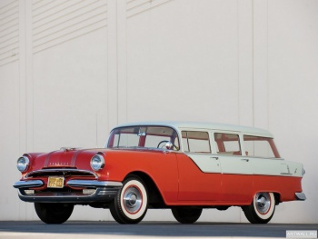 Pontiac Chieftain 4-door Station Wagon '1955,