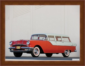 Магнитная картина Pontiac Chieftain 4-door Station Wagon '1955,
