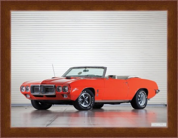 Магнитная картина Pontiac Firebird 400 Ram Air III Convertible '1969,