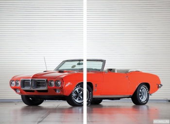 Модульное панно Pontiac Firebird 400 Ram Air III Convertible '1969,