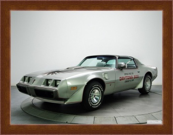 Магнитная картина Pontiac Firebird Trans Am T A 6.6 RPO L78 10th Anniversary Daytona 500 Pace Car (Y89) '1979,