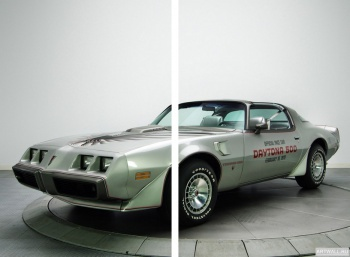 Модульное панно Pontiac Firebird Trans Am T A 6.6 RPO L78 10th Anniversary Daytona 500 Pace Car (Y89) '1979,