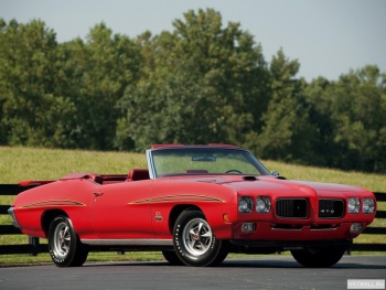 Pontiac GTO The Judge Convertible '1970 Произведены 162 единицы,