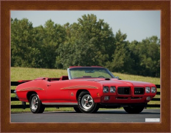 Магнитная картина Pontiac GTO The Judge Convertible '1970 Произведены 162 единицы,