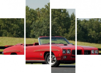 Модульное панно Pontiac GTO The Judge Convertible '1970 Произведены 162 единицы,