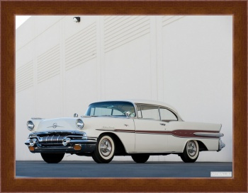 Магнитная картина Pontiac Star Chief Custom Catalina 2-door Hardtop (2837SD) '1957 Произведены 32862 единицы,