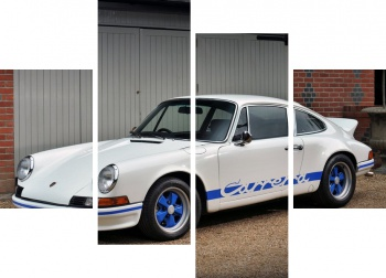 Модульное панно Porsche 911 Carrera RS 2.7 Coupe UK-spec (901) '1972-73,
