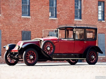 Renault JP Model 45 Town Car by Kellner Freres '1921,