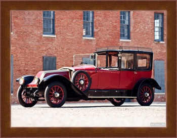 Магнитная картина Renault JP Model 45 Town Car by Kellner Freres '1921,