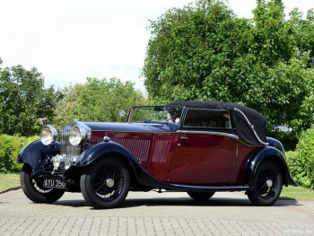 Rolls-Royce 20 25 Drophead Coupe by Thrupp & Maberly '1934,