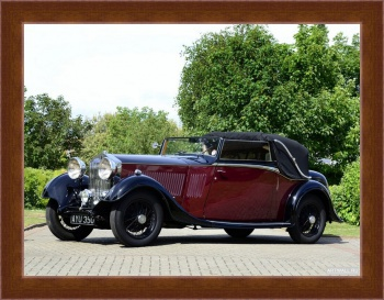 Магнитная картина Rolls-Royce 20 25 Drophead Coupe by Thrupp & Maberly '1934,