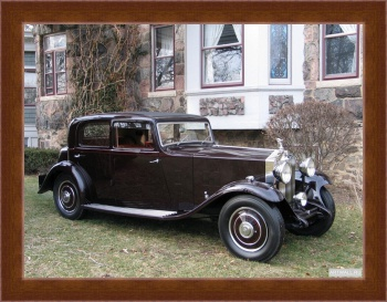 Магнитная картина Rolls-Royce 20 25 Saloon by Thrupp & Maberly '1932,