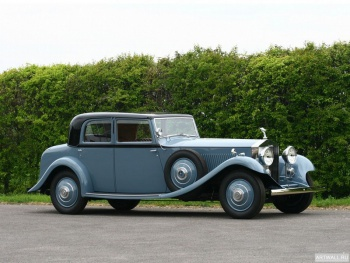 Rolls-Royce 40 50 Phantom Continental Saloon by Barker (II) '1934,