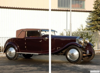 Модульное панно Rolls-Royce Phantom 40 50 Cabriolet by Manessius (I) '1925,