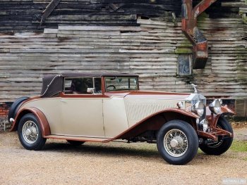 Rolls-Royce Phantom 40 50 LWB Cabriolet by Millard & Co. (II) '1933,