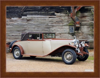Магнитная картина Rolls-Royce Phantom 40 50 LWB Cabriolet by Millard & Co. (II) '1933,