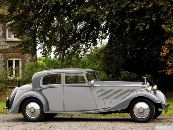 Rolls-Royce Phantom Continental Sports Saloon by Thrupp & Maberly (II) '1932,