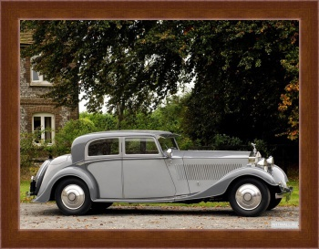 Магнитная картина Rolls-Royce Phantom Continental Sports Saloon by Thrupp & Maberly (II) '1932,