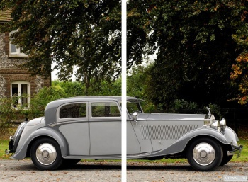 Модульное панно Rolls-Royce Phantom Continental Sports Saloon by Thrupp & Maberly (II) '1932,
