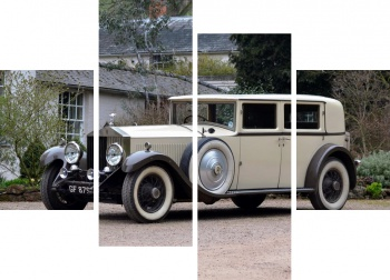 Модульное панно Rolls-Royce Phantom Limousine by R.Harrison & Son (II) '1930,