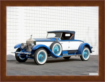 Магнитная картина Rolls-Royce Phantom Piccadilly Roadster (I) '1928,