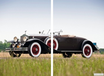 Модульное панно Rolls-Royce Phantom Roadster by Brewster (II) '1931,