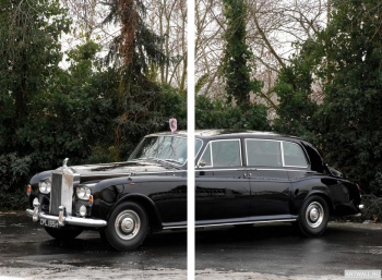 Модульное панно Rolls-Royce Phantom Royal Limousine (VI) '1969,