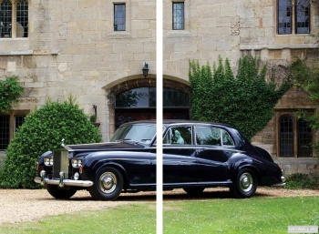 Модульное панно Rolls-Royce Phantom Saloon by James Young (V) '1959-68,