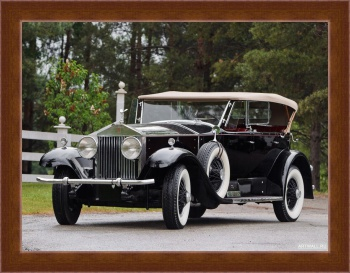 Магнитная картина Rolls-Royce Phantom Sports Phaeton by Murphy (I) '1929,