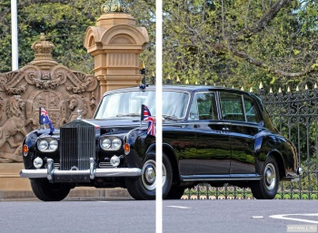 Модульное панно Rolls-Royce Phantom V Sedanca Deville by James Young '1960-63,