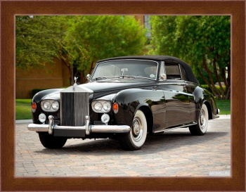 Магнитная картина Rolls-Royce Silver Cloud Drophead Coupe (III) '1962-66,