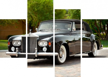 Модульное панно Rolls-Royce Silver Cloud Drophead Coupe (III) '1962-66,