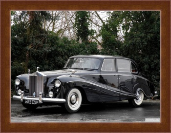 Магнитная картина Rolls-Royce Silver Cloud Saloon (I) '1958,