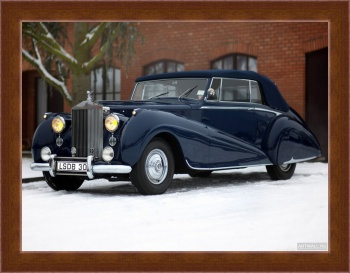 Магнитная картина Rolls-Royce Silver Dawn Drophead Coupe by Park Ward '1950,