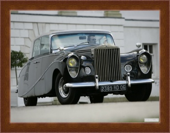 Магнитная картина Rolls-Royce Silver Wraith Perspex Top Saloon by Hooper & Co '1951-59,