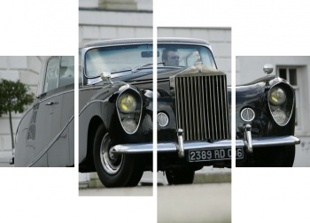 Модульное панно Rolls-Royce Silver Wraith Perspex Top Saloon by Hooper & Co '1951-59,