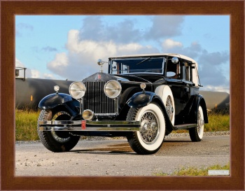 Магнитная картина Rolls-Royce Springfield Phantom Trouville Town Car by Brewster (I) '1932,