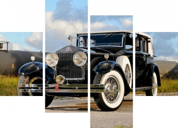 Модульное панно Rolls-Royce Springfield Phantom Trouville Town Car by Brewster (I) '1932,